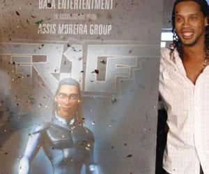 Ronaldinho luchará contra los aliens en una película
