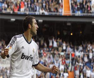 Higuaín vuelve a los entrenamientos con el Real Madrid