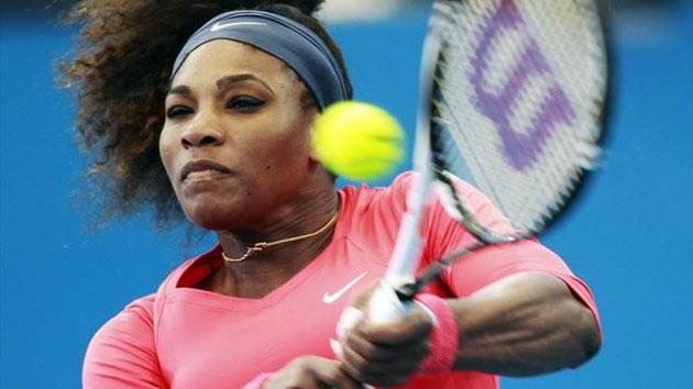 Serena amenaza con ganar los cuatro Grandes