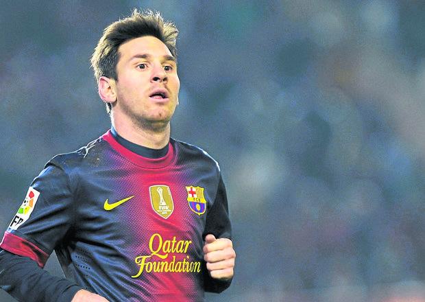 Messi, mejor goleador del mundo en 2012