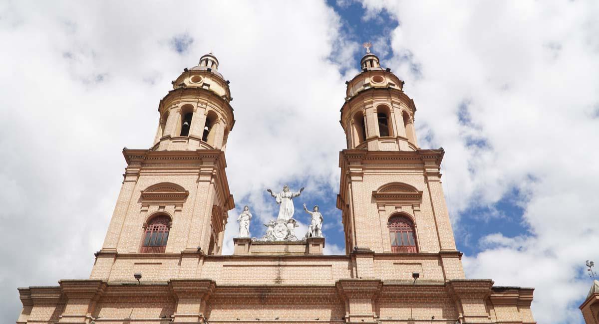 La Catedral de Pasto es sitio de espiritualidad e historia. Foto: Shutterstock