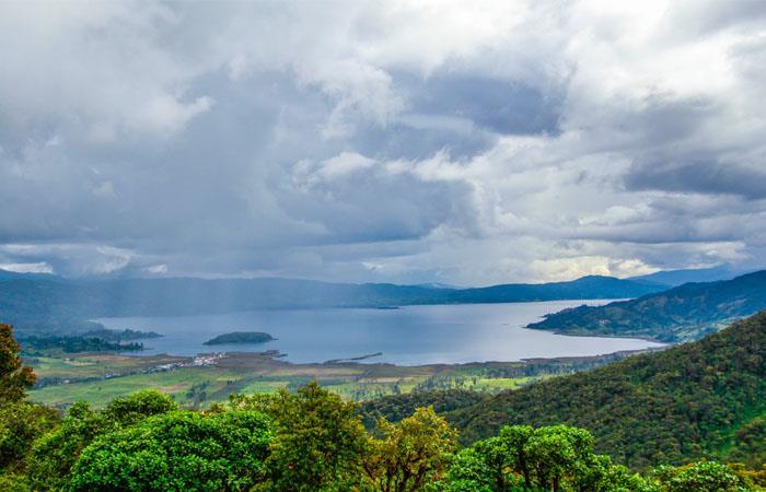 Laguna de la Cocha un lugar de agua pura y energía positiva. Foto: Shutterstock