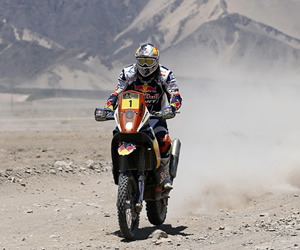 Despres sigue de líder en el regreso del Dakar a Chile