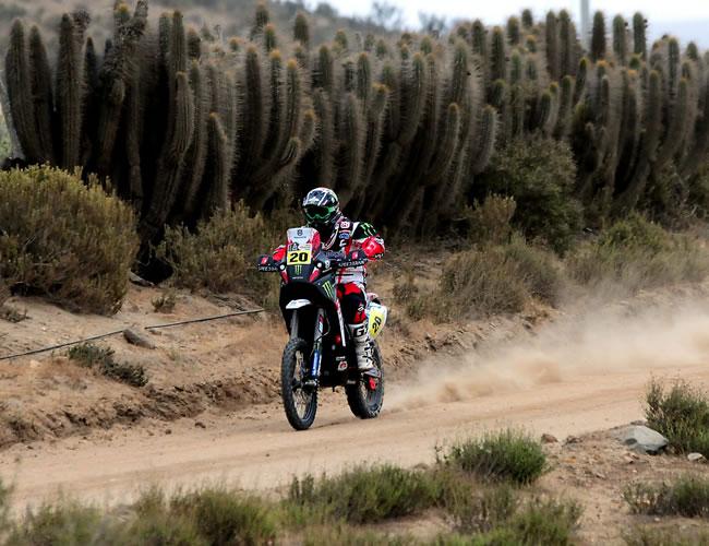 Despres se apunta su quinto Dakar