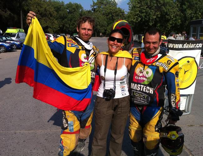 Seis pilotos colombianos llegaron a la meta en el Dakar