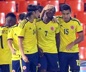 Colombia superó a Uruguay y lidera el Sudamericano
