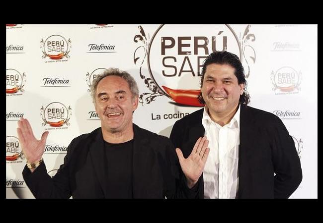 Adrià y Acurio reivindican el fenómeno gastronómico de Perú y sus productos