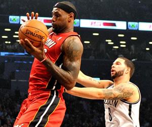 James silenció a los Nets, Anthony establece marca y Rose ya puede entrenarse