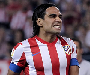 Falcao, baja por lesión para el At. Madrid-Sevilla