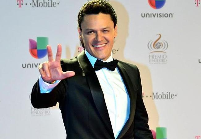El cantante mexicano Pedro Fernández. EFE