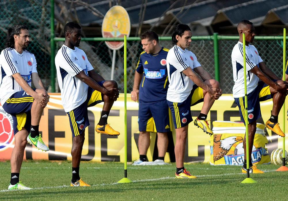 Colombia ya está con todos sus jugadores en Barranquilla