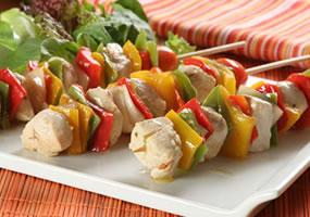 Shish Kebab de pollo