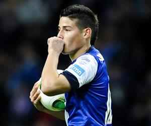 Oporto vence al Braga con un gol de James Rodríguez