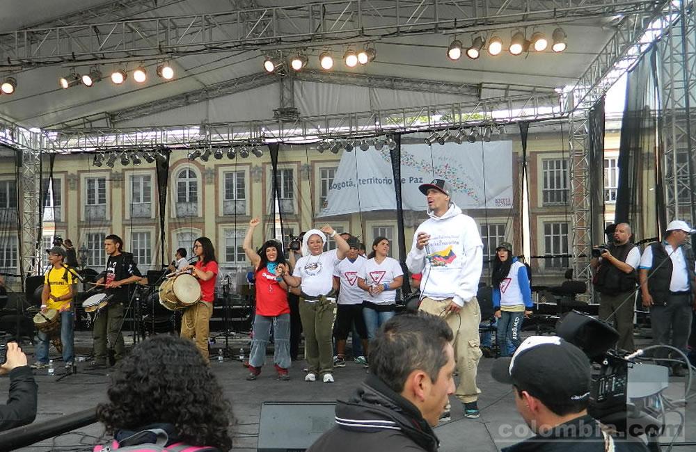 Colombia se moviliza por la paz