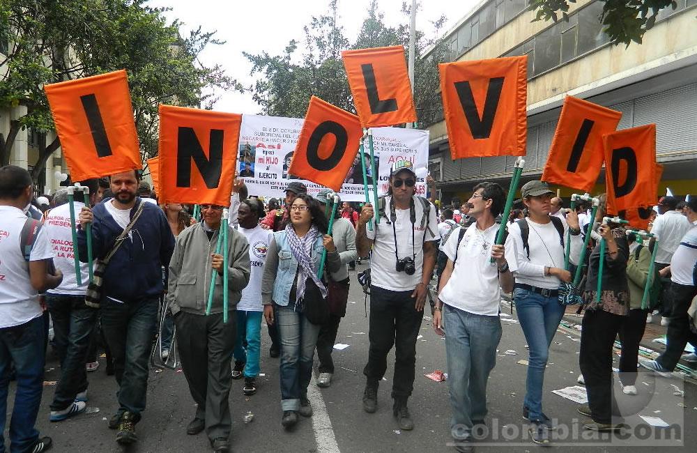 Los colombianos se movilizan por la paz