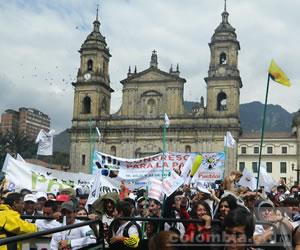 Colombia levanta la voz en nombre de la paz