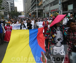 Los colombianos se unen, el país le dice sí a la paz