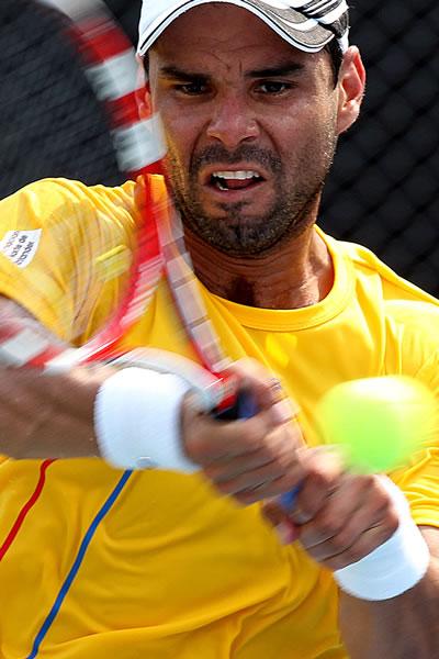 El tenista número uno de Colombia, Alejandro Falla. Foto: EFE