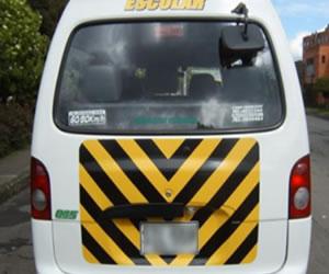 Accidente de ruta escolar en Bogotá deja 16 niños heridos