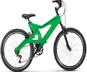 Fabrican bicicleta hecha en plástico y llega a Colombia