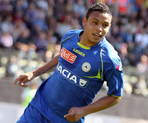 Luis Muriel acerca a Udinese a Europa con sus goles