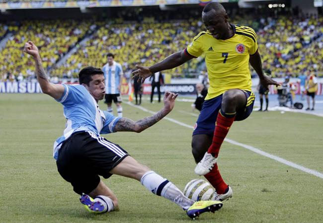 Horarios oficiales de Colombia contra Argentina y Perú