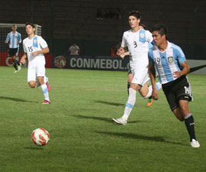 Argentina 3-3 Uruguay. Foto: Peru.com