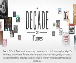 """""""iTunes"""" la tienda de descargas digitales de Apple, cumple 10 años"""