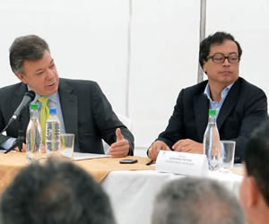 Santos ordenó al comandante de la policía de Bogotá dirigir desde Suba