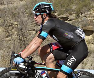 Urán es segundo en la general del Giro de Italia