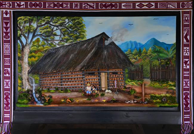 Vivienda indígena del pueblo nasa