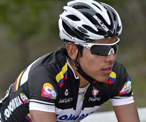Edwin Ávila protagonista de la sexta etapa y Urán se mantiene