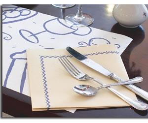 La servilleta un hábito de higiene y educación en la mesa