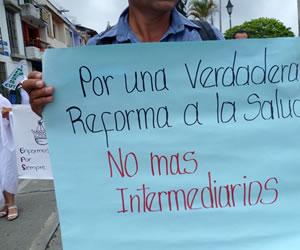 Convocan marcha por la salud para el día 30 de Mayo