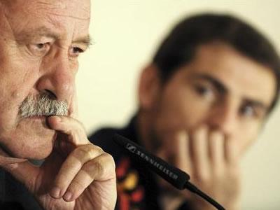 Del Bosque confía en que Casillas se recupere. Foto: EFE