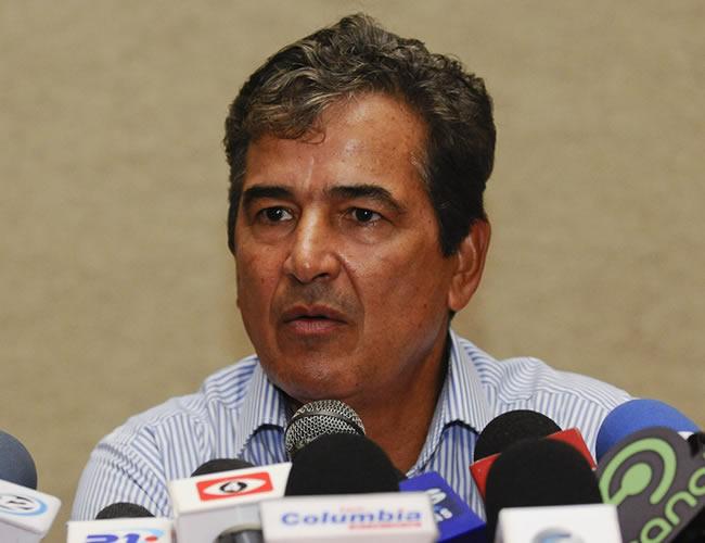 El seleccionador colombiano de Costa Rica, Jorge Luis Pinto. Foto: EFE