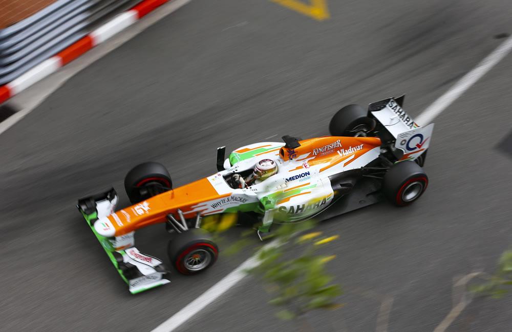 El piloto escocés Paul di Resta durante la clasificación del Gran Premio de Mónaco. Foto: EFE