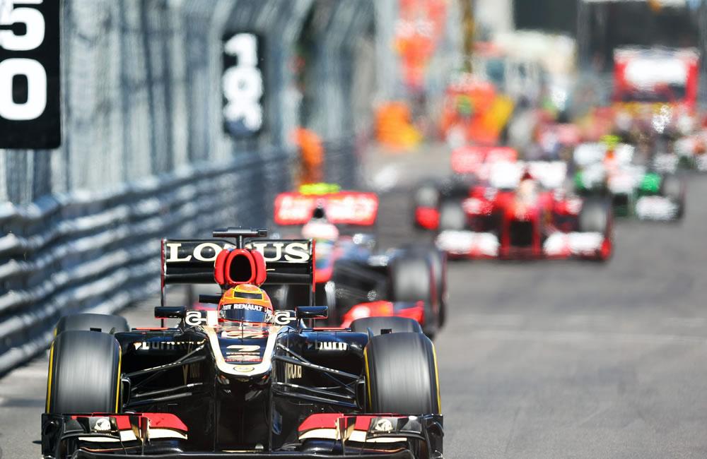 El piloto finlandés Kimi Raikkonen durante el Gran Premio de Mónaco. Foto: EFE