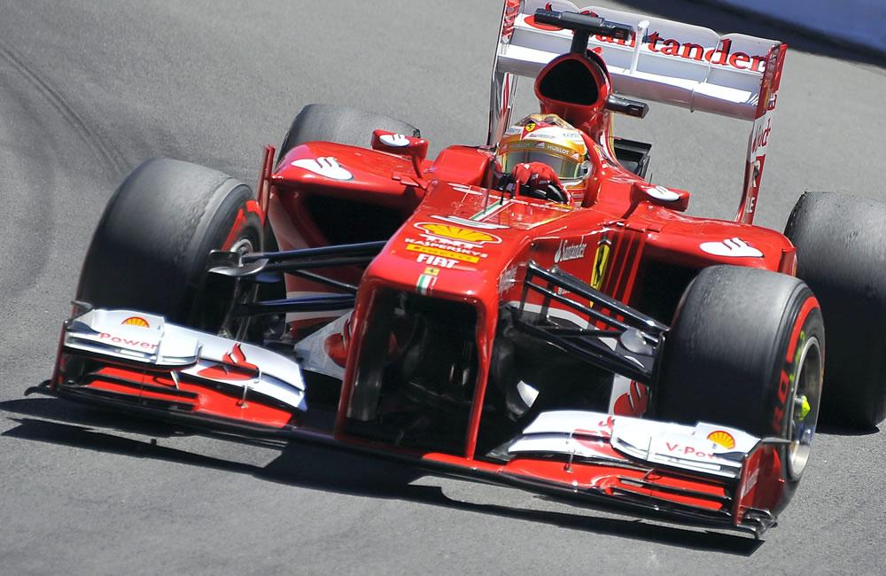 El piloto español Fernando Alonso durante el Gran Premio de Mónaco. Foto: EFE