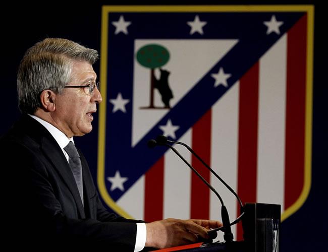 El presidente del Atlético de Madrid, Enrique Cerezo. Foto: EFE