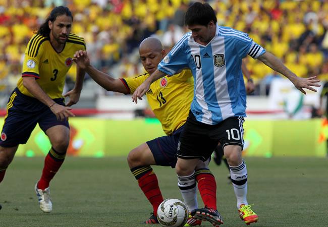 Messi y Falcao como estandartes de Argentina y Colombia