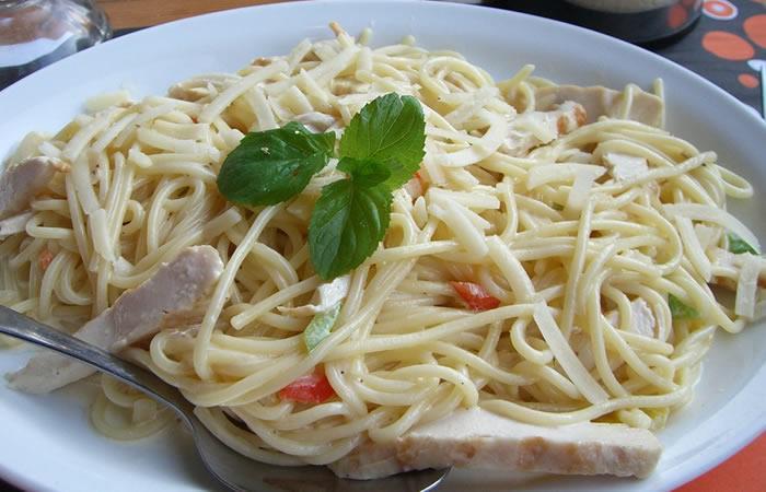Image Result For Receta De Espaguetis Con Pollo Colombiana