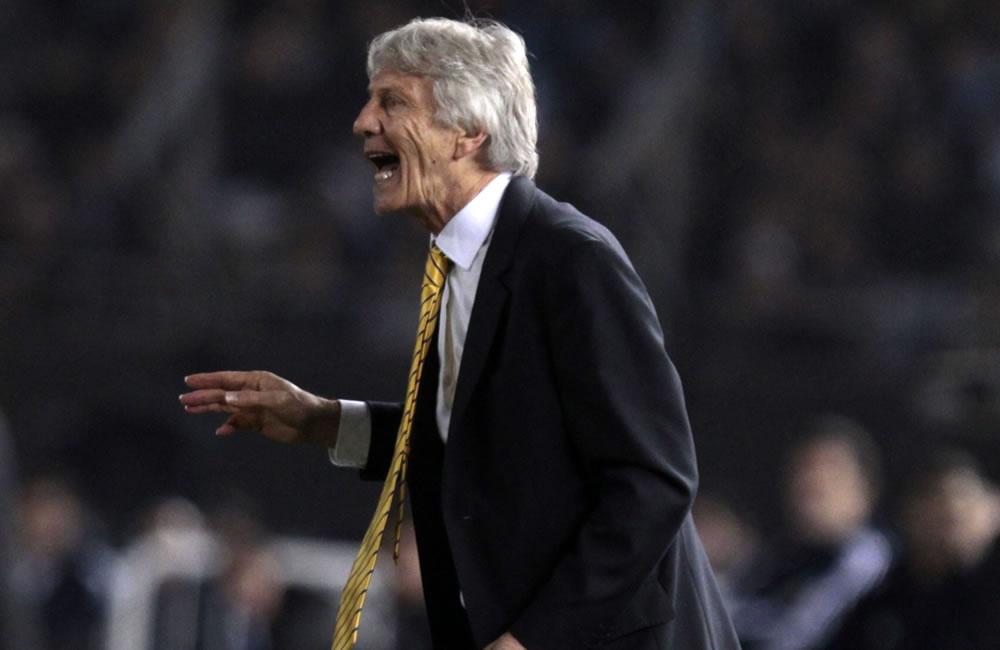 El entrenador de Colombia, José Pekerman. Foto: EFE