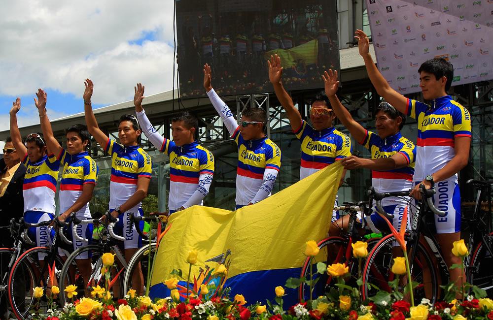 Integrantes de la Selección Nacional de Ecuador. Foto: EFE