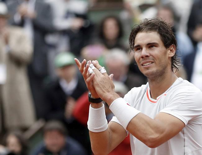 El tenista español Rafael Nadal. Foto: EFE