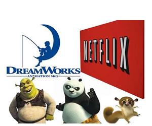 Netflix se alía con DreamWorks para estrenar series originales y películas