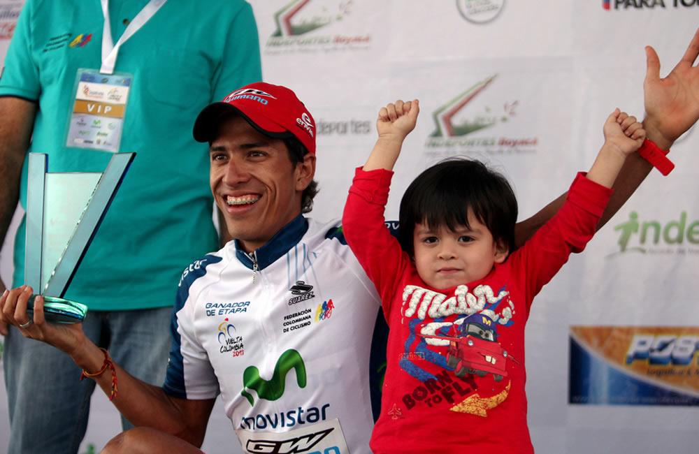 El español Sevilla, nuevo líder de la Vuelta a Colombia tras penúltima etapa