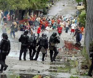 La guerrilla participa en protestas del Catatumbo: Policía
