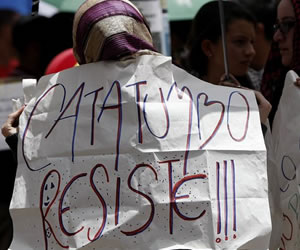 Protestas de campesinos del Catatumbo llegan a Bogotá