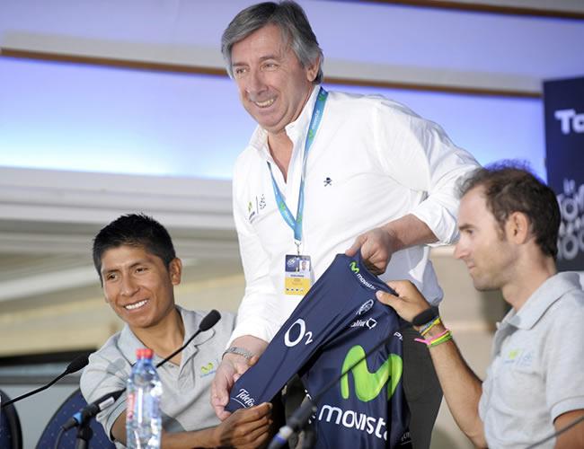 Una etapa y apoyo total a Valverde, metas del colombiano Quintana en el Tour